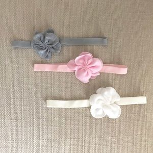 Other - Lot of 3 Cotton Headbands